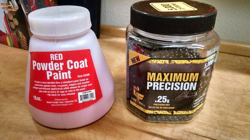 Powder coating 9mm ( 356) & 10mm ( 401) lead bullets